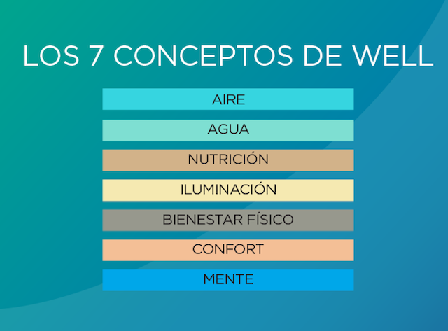 7 areas de trabajo well